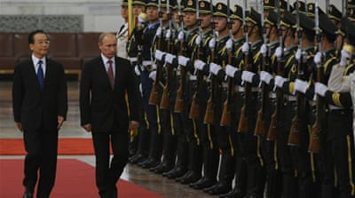 Putin in China to boost bilateral ties