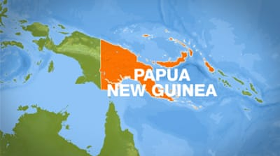 Plane crashes in Papua New Guinea