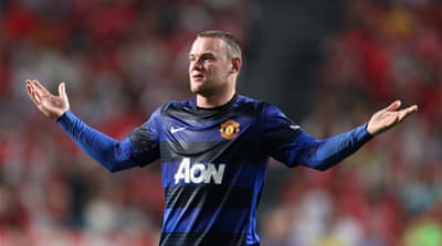 Brand Rooney rises above red card