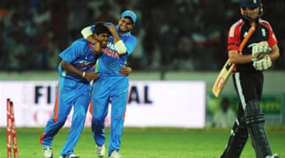 India destroy England in first ODI