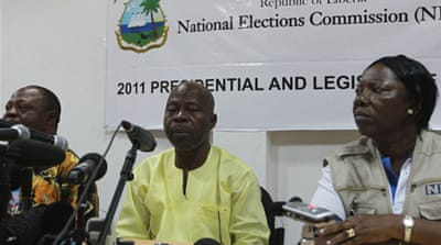 Liberian opposition rejects poll results