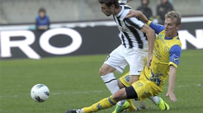 Juventus keep Serie A lead with draw