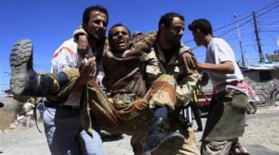 Deadly fighting engulfs Yemen protests