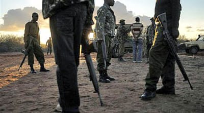 Kenyan troops invaded Somalia in October after a spate of kidnappings on its territory in late 2011 [AFP]