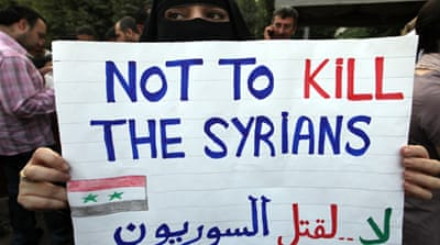 Syrian forces 'kill 12 people across country'