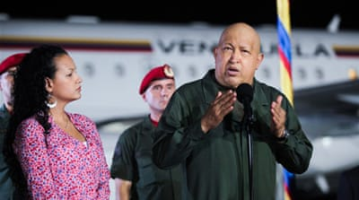 Hugo Chavez returns to Cuba for medical tests
