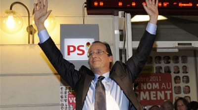 Hollande, relatively unknown outside of France, consistently topped opinion polls ahead of the elections