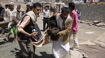 Reports of more deaths in Yemeni protest