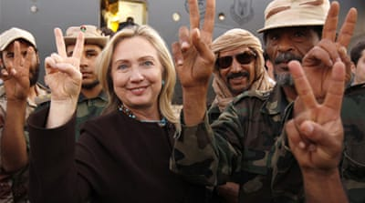 Clinton pledges increased aid for Libya