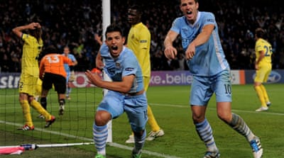 City snatch first Champions League win