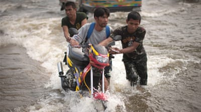 Monsoon rains ease across parts of Indo-China