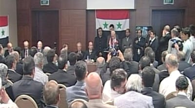 Syrian opposition forms united front