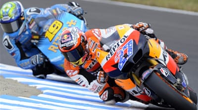 Slip costs Casey Stoner in Japan MotoGP