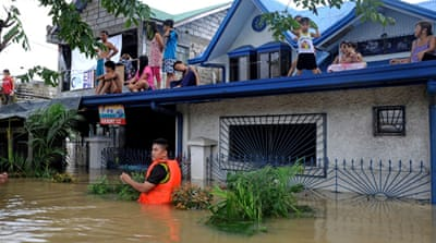 Philippines steps up typhoon relief efforts