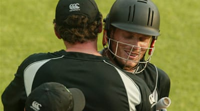 New Zealand destroy Zimbabwe in first ODI