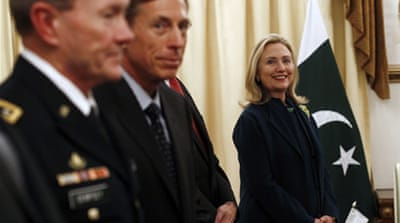 Clinton says US officials met with Haqqanis