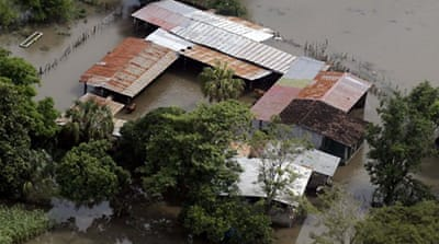 Storm death toll rises in Central America