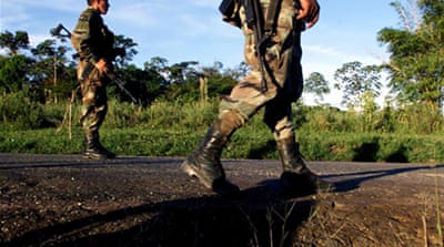 Deadly attacks target Colombia's military