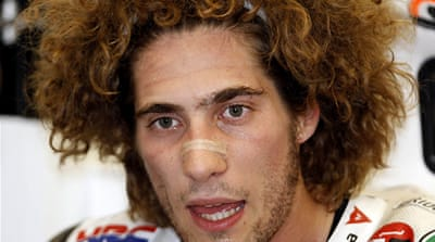 Simoncelli dies after MotoGP crash