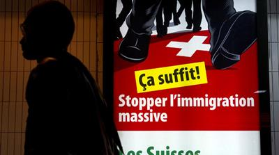 Far-right party 'loses ground' in Swiss poll