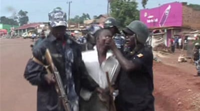 Police crack down on Ugandan protesters