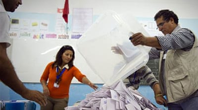 Counting under way after Tunisia polls
