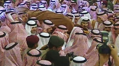 Saudi Arabia buries crown prince