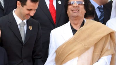 Gaddafi: Friends in high places