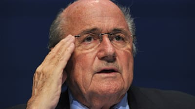 Blatter steps into racism controversy