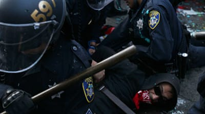 Fierce crackdown on 'Occupy Oakland' protest