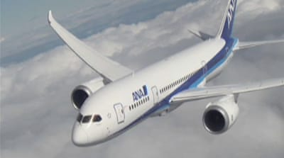 Boeing Dreamliner's maiden flight