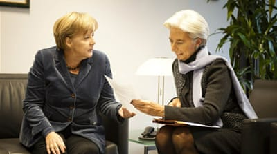 EU leaders meet to thrash out debt deal