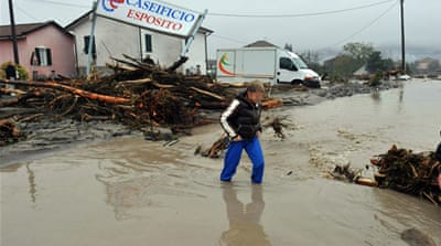 Six killed in Italy flooding