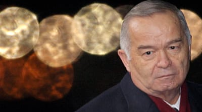 Islam Karimov, the president of Uzbekistan, presides over a highly repressive state [EPA]
