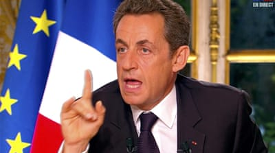 Sarkozy calls Greek euro entry a mistake