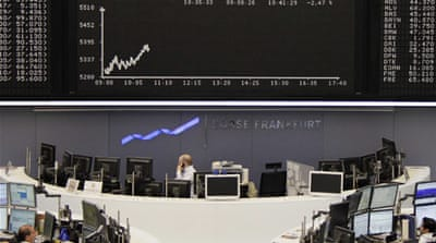 World markets down on Greek debt fears