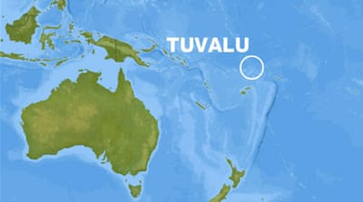 Tuvalu struggles amid water shortages