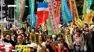 Wall Street protests echo in Tokyo