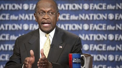 Cain campaign denies sexual harassment claims