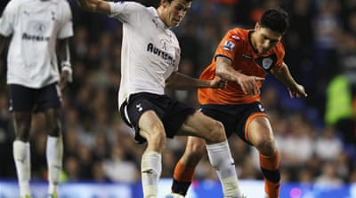 Spurs outclass QPR with Bale brace
