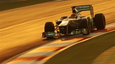India galvanised by F1 success