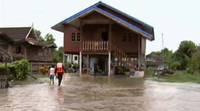Thailand hit by worst monsoon in 50 years