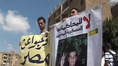 Concern for Egyptian hunger-strike blogger
