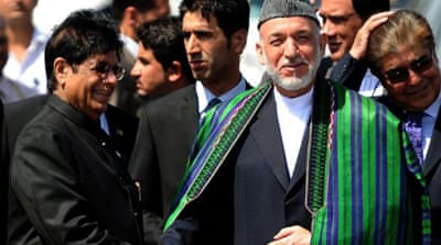 Karzai assures Pakistan over India ties