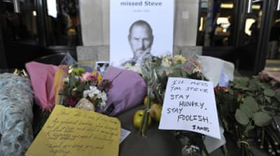 World mourns death of Apple's Steve Jobs