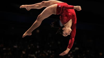 US team spring to top in Tokyo