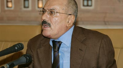 Yemen president seeks guarantees on exit