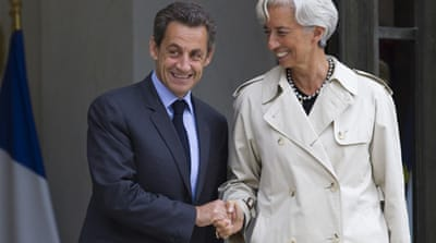 Sarkozy heads to Germany for euro talks