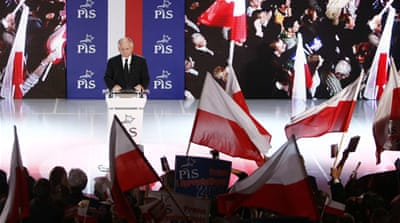 Poles vote in parliamentary elections