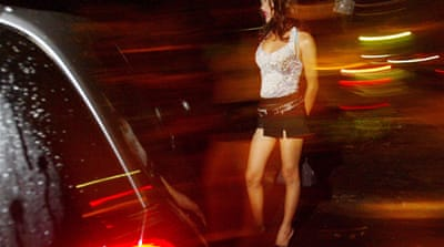 Gangs in US capital pushing prostitution